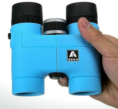 Optical Roof Prism Binocular For Birding 8X32 (120M/1000M) Blue Telescope