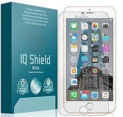 iPhone 7 Plus Screen Protector, IQ Shield® Matte Full Coverage Anti-Glare Screen Protector for iPhone 7 Plus Bubble-Free Film