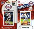 MLB Philadelphia Phillies 2 Different Licensed Trading Card Team Sets