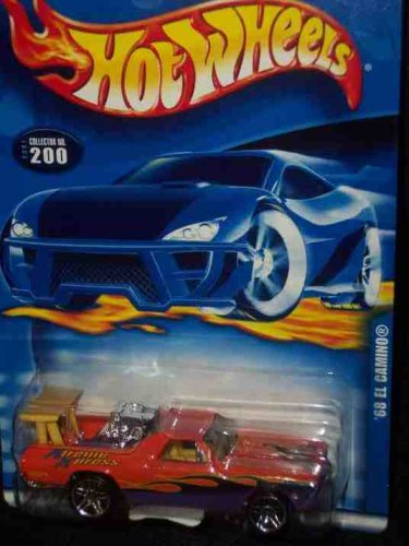 #2001-200 1968 El Camino China Collectible Collector Car Mattel Hot Wheels