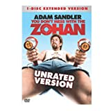 You Don't Mess With the Zohan (Unrated Extended Single-Disc Edition) ~ Adam Sandler