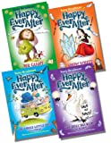 Tony Bradman Happy Ever After Collection - 4 Books RRP £15.96 (Mr Giant and the Beastly Baron; Snow White and the Magic Mirror; The Three Little Pigs Go Camping; The Ugly Duckling Returns)