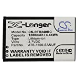 VINTRONS, 1200mAh 3.7V Li-ion Battery