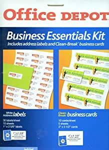 Amazon fice Depot Business Essentials Kit
