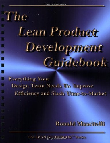 The Lean Product Development Guidebook Everything Your Design Team Needs to Improve Efficiency and Slash Time096629825X