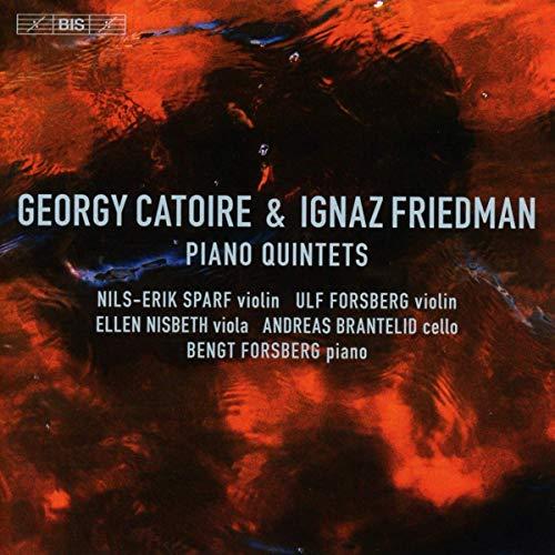 SACD : BENGT FORSBERG - NILS-ERIK SPARF - ULF FORSBERG - ELLEN NISBETH - ANDREAS BRANTELID - Piano Quintets (Hybrid SACD)