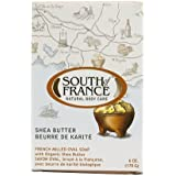 South Of France Natural Bar Soap, Shea Butter, 6 Ounce