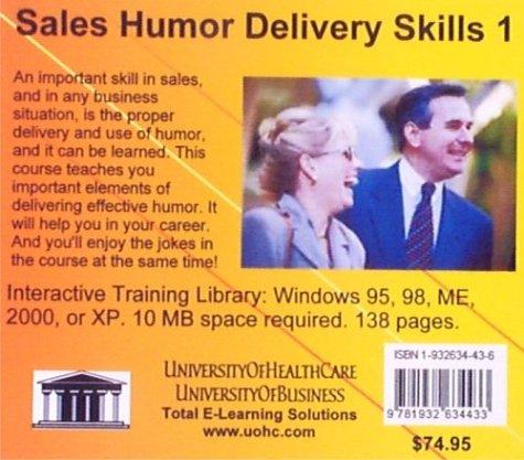 Sales Humor Delivery Skills 1 (No. 1)