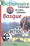 echange, troc Peio Etcheverry-Ainchart, Alexandre Hurel, Collectif - Dictionnaire thématique de culture et civilisation basques