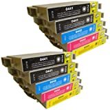 10 CiberDirect Compatible Ink Cartridges for use with Epson Stylus C66 Printers.