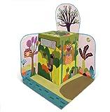 Oops Little Helper Pop-Up Play Tent in Vibrant Woodland Wonderland Animal Design with Surrounding Scene