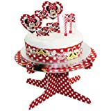 Amscan Disney Minnie Mouse Cake Decoration Kit Red