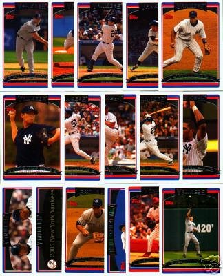 Buy 2006 Topps New York Yankees Complete Team Set (Series 1 And 2) – Includes Mickey Mantle, Alex Rodriguez, Derek Jeter, and more!