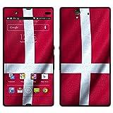 """atFoliX Designfolie """"D�nemark Flagge"""" f�r Sony Xperia Z - ohne Displayschutzfolievon """"Designfolien@FoliX"""""""