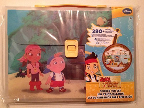 Jake and the Never Land Pirates 280 Stickers