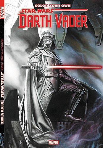 Color Your Own Star Wars: Darth Vader (Tapa Blanda)