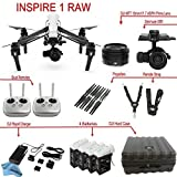 DJI-Inspire-1-RAW-Bundle-with-Zenmuse-X5R-4-Batteries-Remote-Harness-Dual-Remotes-more
