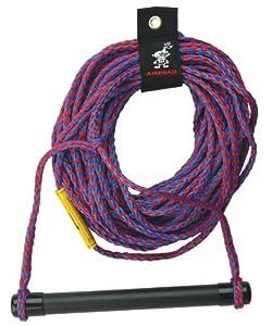 Buy AIRHEAD AHSR-1 Water Ski Rope with Aluminum Handle (75-Feet) by Kwik Tek