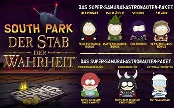 South Park: Der Stab der Wahrheit - ULC Ultimative Mitgliedschaft Paket + Super-Samurai-Astronauten-Paket [PC Steam Code]