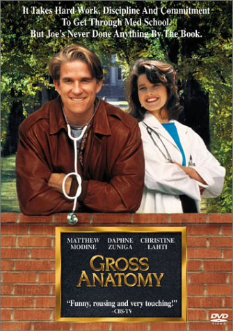 Movie: Gross Anatomy with Matthew Modine, Daphne Zuniga