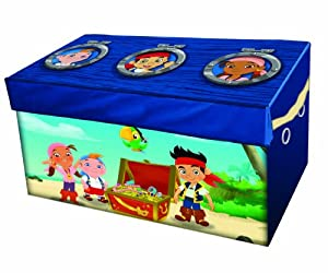 Disney Jake and the Never Land Pirates Collapsible Storage Trunk from Disney
