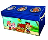 Disney Jake and the Neverland Pirates Collapsible Storage Trunk, Blue