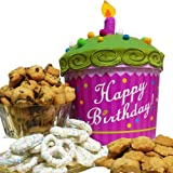 Art of Appreciation Gift Baskets   Happy Birthday Cupcake, Cookie and Treats Box