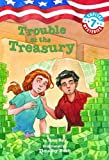 Capital Mysteries #7: Trouble at the Treasury (A Stepping Stone Book(TM))