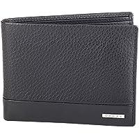 Cross® Men's 100% Genuine Leather Bifold Card Wallet-Black