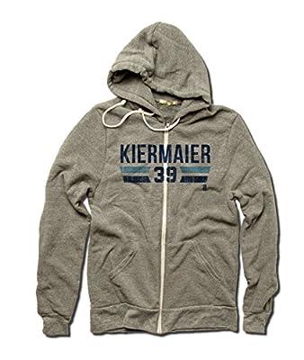 Kevin Kiermaier MLBPA Tampa Bay Men's Zip Hoodie Kevin Kiermaier Font B