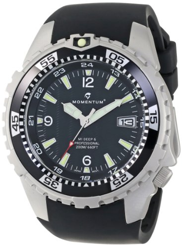 Momentum Men's 1M-DV06B4B M1 DEEP 6 Analog Dive Date Watch