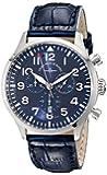 Zeno Men's 6569-5030Q-A4 Navigator Blue Chronograph Dial Watch