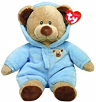 """Ty Pluffies Pj Bear 9"""" Blue by Ty"""