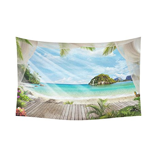 51JBd4W8KjL The Best Beach Themed Tapestries You Can Buy