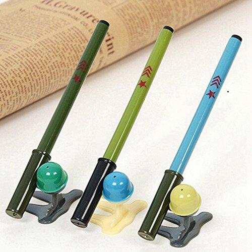 frimateland-pack-of-12-pcs-cute-cool-novelty-bazooka-shape-gel-ink-pen-office-school-supplies-studen