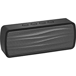Insignia - Portable Bluetooth Stereo Speaker - BLACK