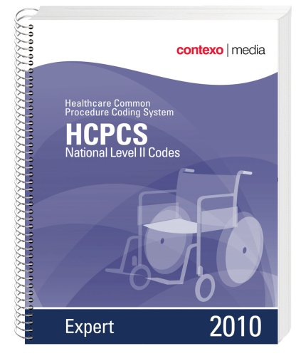 HCPCS National Level II Codes, Expert: Healthcare Common Procedure Coding System