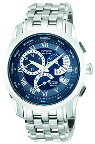 Citizen Men'S Bl8000-54L Eco-Drive Calibre 8700 Perpetual Calendar Sport Watch