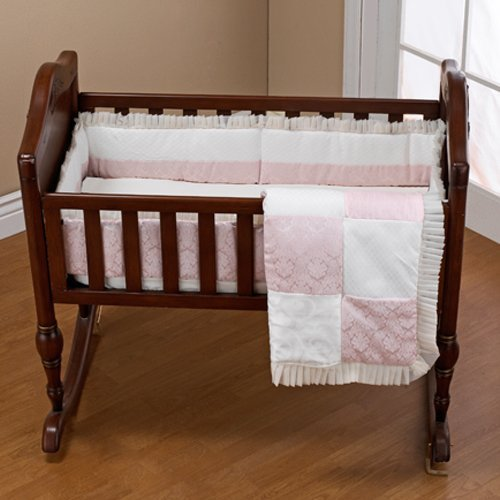 Baby Doll Bedding Queen Port-a-Crib Set, Pink