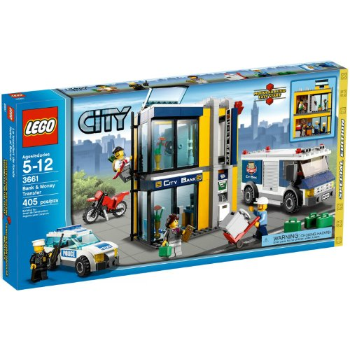 LEGO CITY Bank mit Geldtransporter