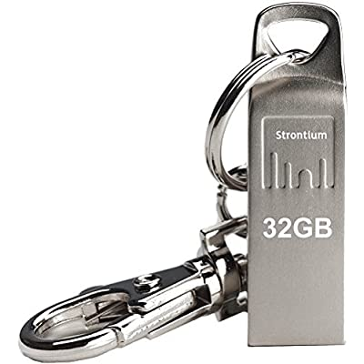 Strontium SR32GSLAMMO USB Pen Drive (Silver)