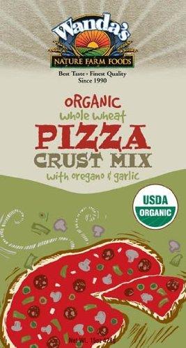 Organic Whole Wheat Oregano Garlic Pizza Crust Mix