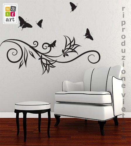"Adesivo murale per bambini wall art ""gattini curiosi""   misure ..."