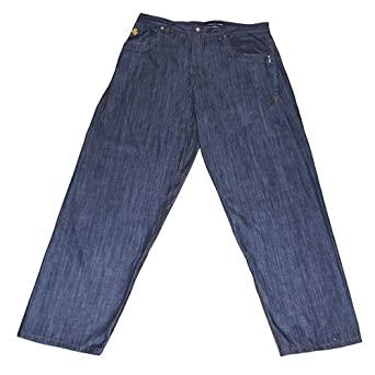 And tall baggy fit denim jeans very high quality urban designer jeans