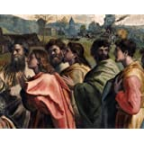 Christ's Charge to Peter, detail, by Raphael (V&A Custom Print)