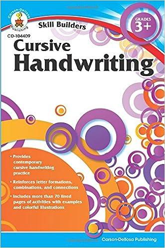 Cursive Handwriting, Grades 3 - 5 (Skill Builders)
