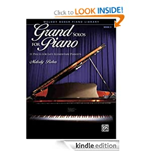 Melody Bober Piano Library- Grand Solos For Piano - Book 3 Melody Bober and Alfred Publishing
