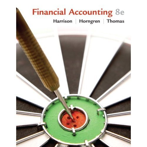 by Charles T. Horngren,by Bill Thomas,by Walter T. Harrison Financial Accounting (8th Edition) (text only)8th (Eighth) edition[Hardcover]2009
