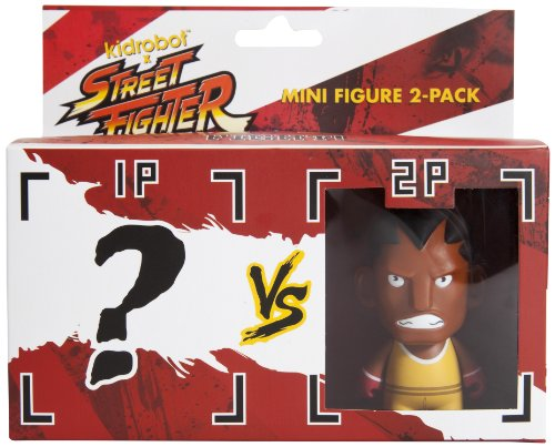 Kidrobot Street Fighter Balrog Mini Figure, 2-Pack - 1