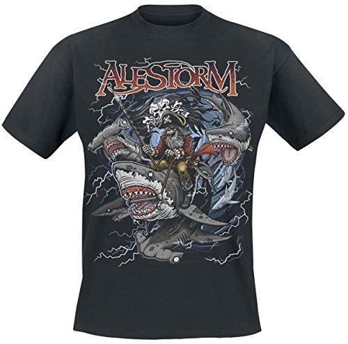 Alestorm Sharks Ahoy T-Shirt nero M